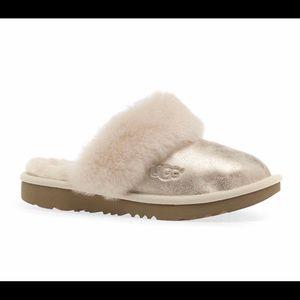 NEW UGG Cozy II Metallic Slipper Shoes